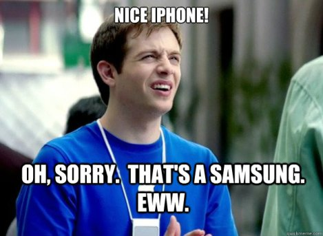 iPhone v Samsung