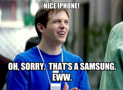iPhone v Samsung